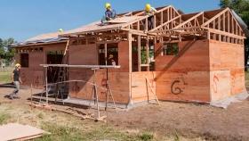 La construcción de casas de madera en la región ya es una realidad