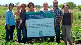 La universidad acompaña y garantiza la producción agroecológica