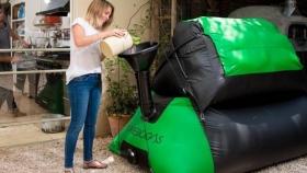 Homebiogas: la máquina israelí que convierte desechos orgánicos en energía renovable para el hogar