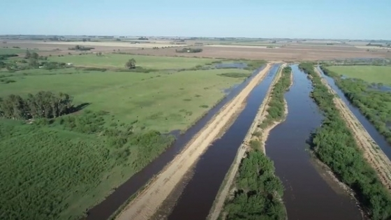 La obra hídrica que mejorará 600.000 hectáreas