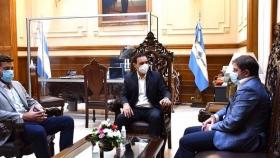 Valdés y Rodríguez Larreta firmaron acuerdo para profundizar la cooperación entre Corrientes y CABA