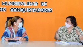 Planifican obras viales para Los Conquistadores en el departamento Federación