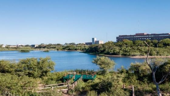 Se inauguró el nuevo mirador de la Laguna de la Aves