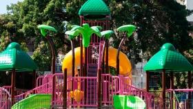 El Gobierno porteño construyó 130 patios de juegos