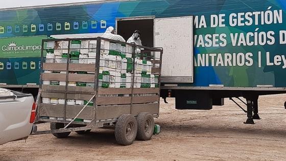 En qué consiste el sistema de recupero de gestión de envases vacíos de fitosanitarios de Campo Limpio
