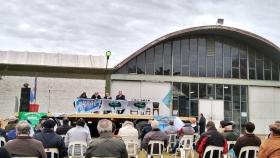 Cepo a la carne: Carbap se hizo escuchar en Olavarría