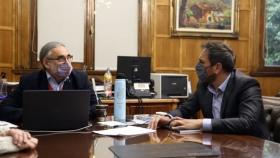 Basterra y Cabandié dialogaron sobre los alcances de la ley de bosques