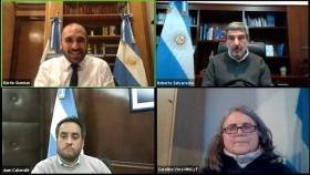 Salvarezza, Guzmán y Cabandié participaron de un encuentro dedicado al potencial del desarrollo del hidrógeno en Argentina