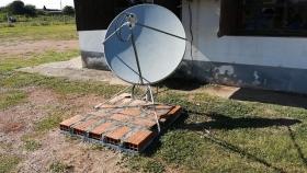 El Senasa lleva a todo el país antenas Vsat de ARSAT para mejorar la conectividad rural