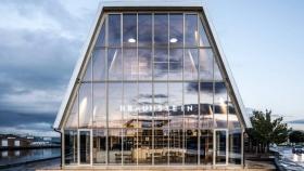 Braunstein Taphouse: un proyecto arquitectónico desmontable y reciclable en Copenhague
