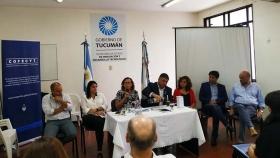 La ministra Rosales en reunión del Consejo Regional de Ciencia y Tecnología