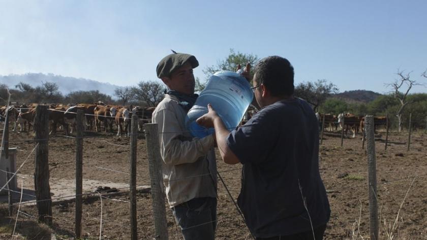 Córdoba solidaria: convocan a realizar donaciones para productores afectados por los incendios