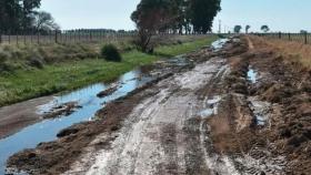 Con una inversión de más de 570 millones de pesos, la provincia trabaja en mejorar caminos rurales