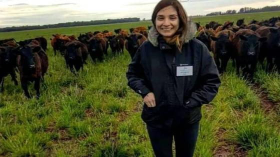 Daniela Ríos: una historia de amor por el campo