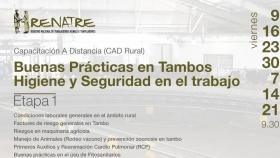 Seguridad e higiene en el tambo: siguen las capacitaciones para el sector lechero en Córdoba