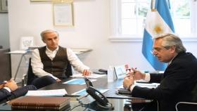 El presidente Alberto Fernández mantuvo una comunicación telefónica con su par chileno, Sebastián Piñera