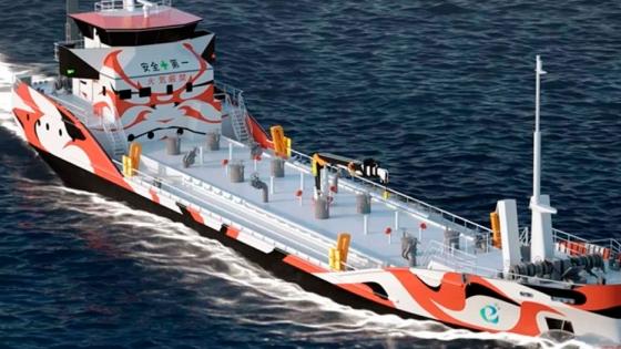 Japón está construyendo el primer barco petrolero eléctrico del mundo