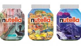 Nutella lanza al mercado sus nuevas etiquetas limitadas que comparten turismo y cultura italiana