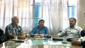 Reunión institucional en el Ministerio de Infraestructura