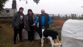 El sostén del  Cambio Rural para el tambo