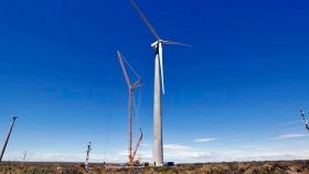 El primer parque eólico de Neuquén empezará a funcionar