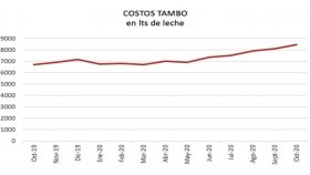 Evolución de costos Tambo