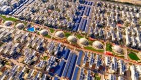 Arquitectura sostenible: Dubai construye ciudad 100% solar, autos eléctricos y edificios ecoamigables