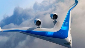 Flying-V promete ser el avión más sustentable y amigable con el medio ambiente