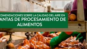 Recomendaciones sobre la calidad de aire en plantas de procesamiento de carnes