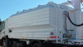 Diseño único, más seguro: presentan una tolva que se opera desde el camión