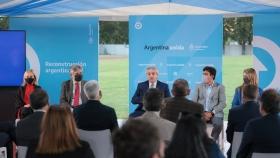 """Alberto Fernández: """"El futuro está en las sociedades que desarrollan el conocimiento, la educación, la ciencia y la tecnología"""""""