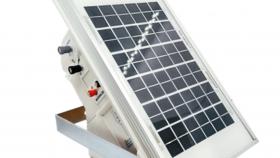 Boyero solar batería incluida 40 km kit peón inteligente