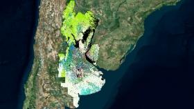 Argentina crea el primer mapa de cultivos de amplia extensión