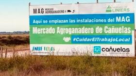 El Mercado Agroganadero de Cañuelas avanza con las obras y ratificaron que se inaugura antes de fin de año