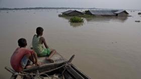 Calentamiento global: crece el riesgo de que haya más desplazados por las inundaciones