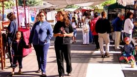La Feria de Artesanos en El Bolsón