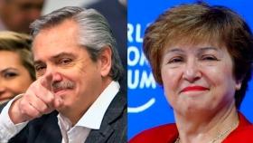 Georgieva felicitó a Alberto Fernández y ratificó que colaborará con su gobierno