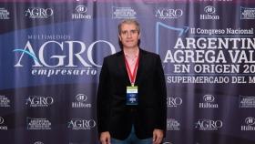 Oscar Eduardo Palma - Docente-Investigador de la Escuela de Ciencias Agrarias, Naturales y Ambientales, UNNOBA - Congreso II Edición