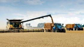 Soja, sorgo y maíz en plena cosecha