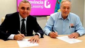 Provincia Leasing firmó convenio con matriceros para financiar producción de maquinaria