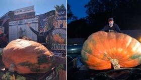 Calabaza de 1.066 kilos gana concurso en California