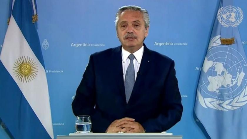 ONU: Alberto Fernández se expresó en contra de las políticas agrícolas distorsivas