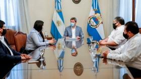 Coordinadores de la Secretaría de Agricultura Familiar, Campesina e Indígena visitaron al gobernador