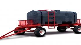Acoplado con Tanque plástico de 4.500 Lts