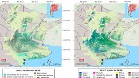 El Inta actualizó el Mapa Nacional de Cultivos Extensivos