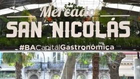 Mercado de San Nicolás: un espacio antiguo con una estética moderna