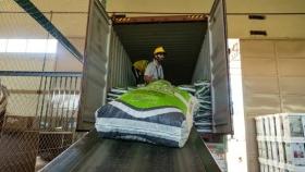 San Luis exportó pellets de alfalfa a Colombia
