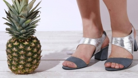 Zapatos frutales by Piñatex