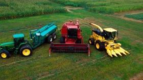Estrategias para mirar lo que queda en el suelo al cosechar el trigo