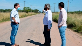 Caminos Rurales: Javier Rodríguez anunció obras para la provincia de Bs. As